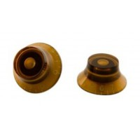 Gibson Top Hat Knobs Amber 4er Set