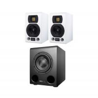 HEDD Audio Type 05 MK2 White 2 1 Set mit Bass 08