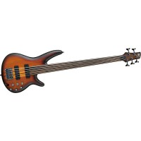 Ibanez SRF705 BBF Fretless 5 String Brown Burst