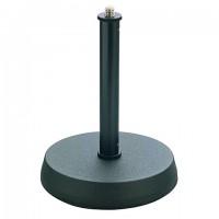 K M 23200 Mikrofon Tischst    nder mit Rundsockel