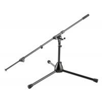 K M 25500 Mikrofonst    nder niedrig schwarz
