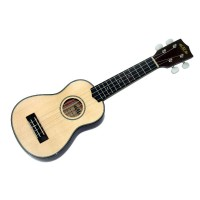 Kala Solid Spruce Top Soprano Ukulele with Bag