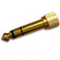 Kopfh    reradapter 3 5mm  6 3mm Jack schraubbar
