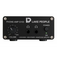 Lake People G103 P Headphone Amp symm  Inputs