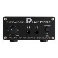Lake People G103 P Headphone Amp symm  Inputs