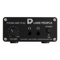 Lake People G103 S Headphone Amp unsymm  Inputs