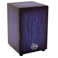 Latin Percussion Aspire Cajon Blueburst Streak