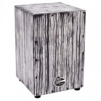 Latin Percussion Aspire Cajon White Streak
