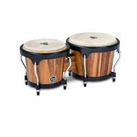 Latin Percussion Aspire Wood Bongos Walnut