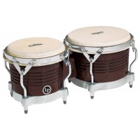 Latin Percussion Bongo Matador  Dark Wood