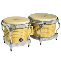 Latin Percussion Bongo Matador  Natur Chrome