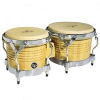 Latin Percussion Bongo Matador  Natur Chrome