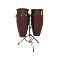 Latin Percussion Congaset Aspire 10  11  Dark Wood