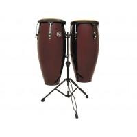 Latin Percussion Congaset Aspire 10  11  Dark Wood
