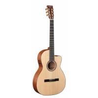 Martin 000C Nylon String Gitarre mit Tonabnehmer