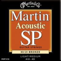 Martin MSP3150 Ac  Bronze  0125  055 Medium Light