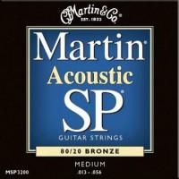 Martin MSP3200 Ac  Bronze  013  056 Medium
