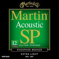 Martin MSP4600 Ph  Bronze 12 String Extra Light