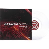 Native Instruments Traktor Scratch Vinyl MKII Clear