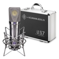 Neumann U 87 Rhodium Edition 50th Anniversary