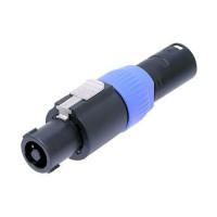 Neutrik NA4FC M Speakon XLRmale Adapter