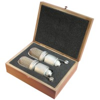 Oktava MK 105 MSP Stereo Paar in Holzbox Silver