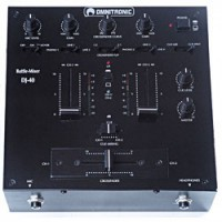 Omnitronic DJ 40 black DEMO