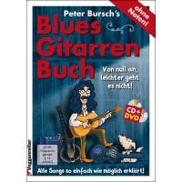 Peter Burschs Blues Gitarrenbuch   CD