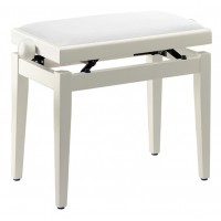 Pianobank White Matt Standard Polster White PB05