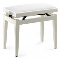 Pianobank White Polished Standard Polster Wh  PB05