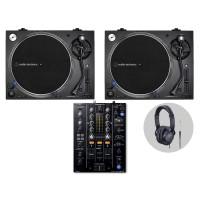 Pioneer Audio Technica LP140XP Bl  DJ Vinylset II