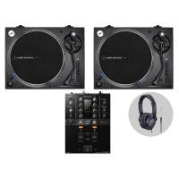Pioneer Audio Technica LP140XP Bl  DJ Vinylset I