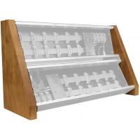 Pittsburgh Modular Double Row Hardwood Side Set
