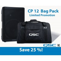 QSC CP Series CP12   Bag Bundle PROMO