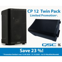 QSC CP Series CP12 Twin Pack PROMO