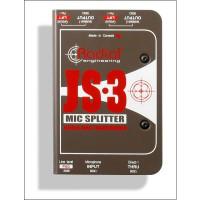 Radial JS 3 Mic Splitter