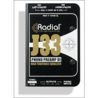 Radial J 33 Activ Stereo DI mit Phono Preamp