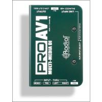 Radial Pro AV1 Passiv Multimedia DI Box 1 Channel