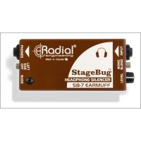 Radial StageBug SB 7 Kopfh    rer Mute Switch