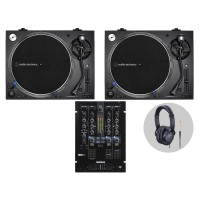 Reloop Audio Technica LP140XP Bl  DJ Vinylset II