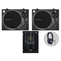 Reloop Audio Technica LP140XP Bl  DJ Vinylset I