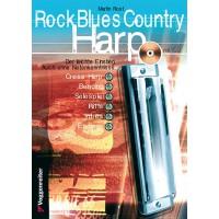 Rock Blues Country Harp   CD