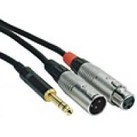 Rock Cable RCIN06PSMXFX Insert Cable XLR Jack 0 6m