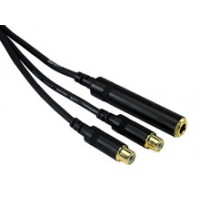 Rock Cable RCY03JMFC Y Kabel TRSf 7 2x RCAf 0 3m