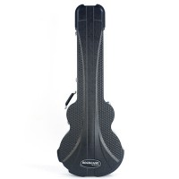 Rockcase ABS 10517 BCT SB Premium Hollow Body Bass Black Curved