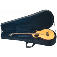 Rockcase DLX Acoustic Bass BLK Soft Light 20810B