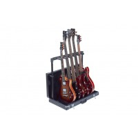 Rockstand Multiple Stand Wooden Case  5xBass Git