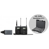 Sennheiser EW 100 ENG B G4 Portable ENG Combo   CC