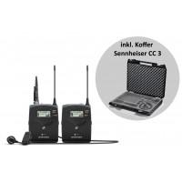 Sennheiser EW 122 P B G4 Portable Lav Set   CC3
