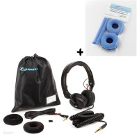 Sennheiser HD 25 Plus   Polster Set Velour Sky Blue